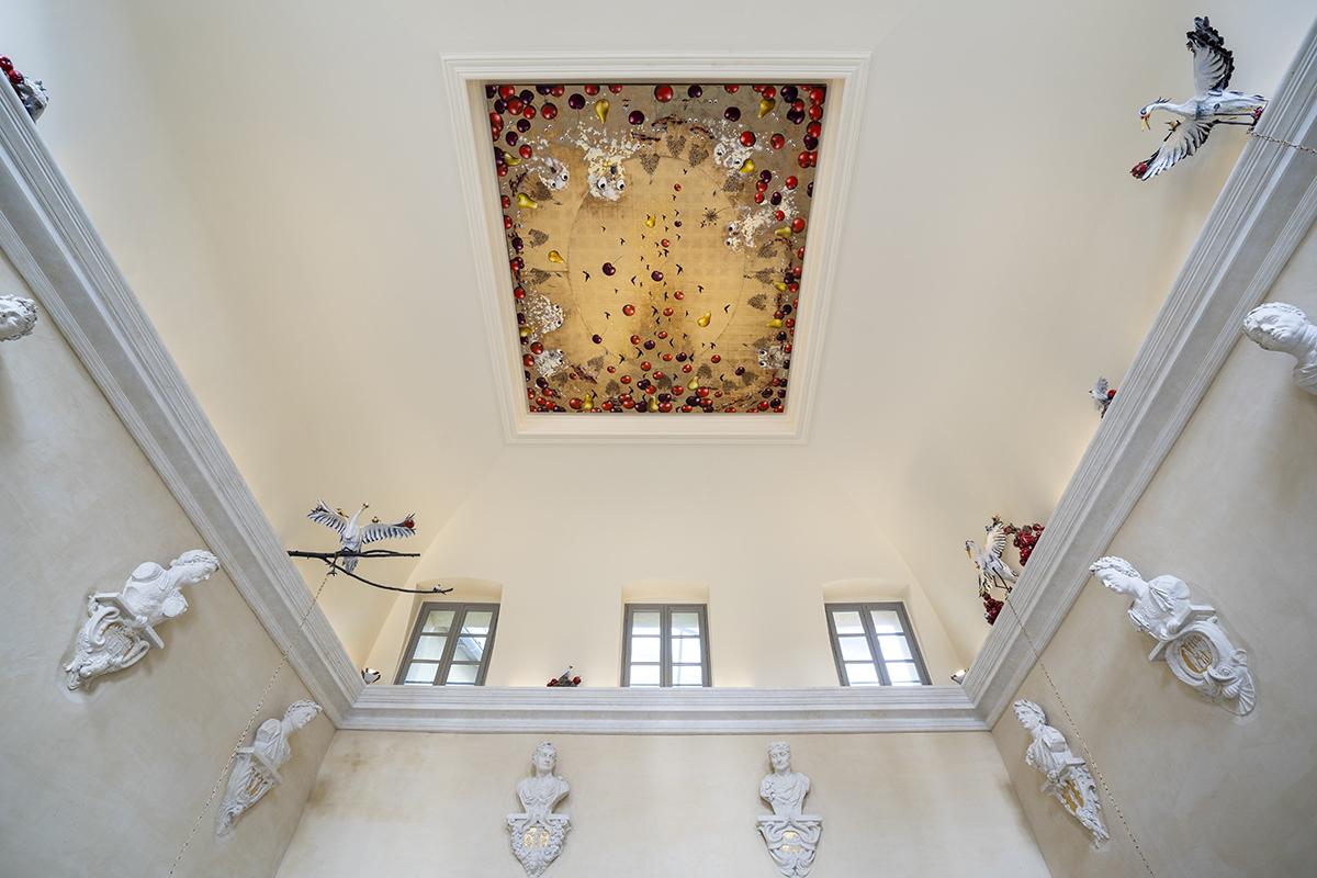 Longue vue, 2021, installation pérenne à l'Hôtel Richer de Belleval