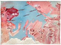 marlene-mocquet-ciel-blesse-21x29-7cm-email-a-froid-huilke-decalcomanie-crayon-de-couleur-encre-platre-resine-vinylique-e3214950ca1929833750debdc5fc1e90