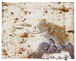marlene-mocquet-lancer-de-fraises-27x33cm-2013-huile-email-a-froid-bombe-aerosol-d0367a2be52ab66edf4cfad6912540e1