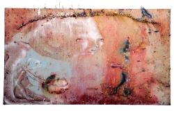 marlene-mocquet-pas-de-trois-114x195cm-2014-email-a-froid-huile-cire-bougie-resine-epoxy-spray-aerosol-caparol-pigment-pate-de-modelage-44c5265fc1f19c4cfc69fb380d800f5c
