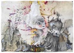 marlene-mocquet-princesse-platree-21x29-7cm-2016-email-a-froid-crayon-de-couleur-huile-encre-de-chine-resine-vinylique-colle-resine-epoxy-stylo-indelibilegraphite-b62b71c14bb6f32d50a2858e3e6e3e9e