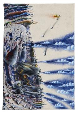 marlene-mocquet-souffler-les-nuages-33x22-5x2-5cm-email-a-froid-huile-2012-1273-81f4416d8d42d8694eb0bd302e75afe5