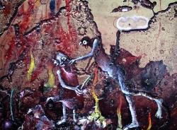 mocquet-nos-continents-2019-gesso-email-a-froid-paillette-huile-decalcomanie-sur-laiton-grave-detail2-9d3587ed3357223d53423248919a522a